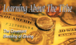 Learning About The Tithe